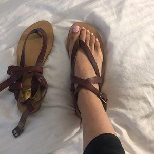 We Who See gladiator sandal